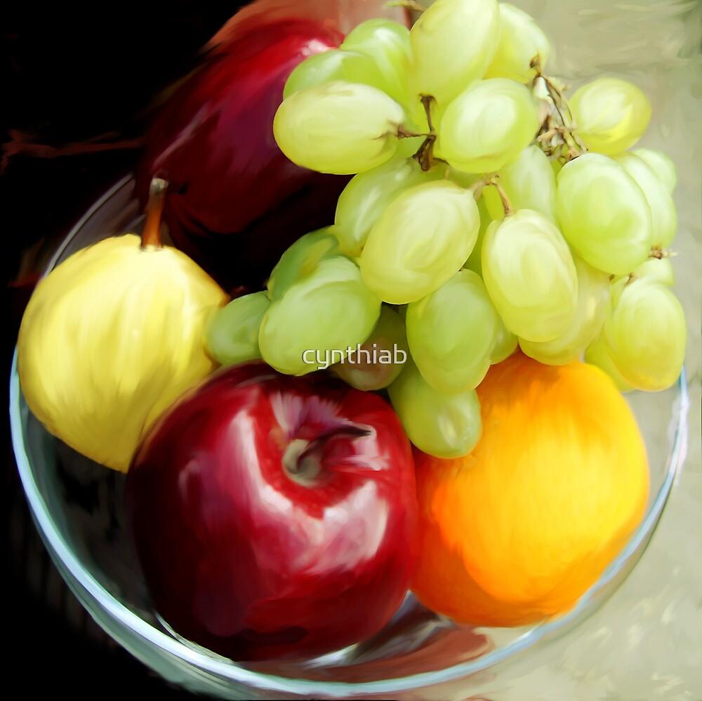 fruit by cynthiab