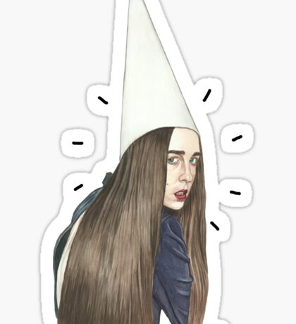 Allie the Dunce Sticker
