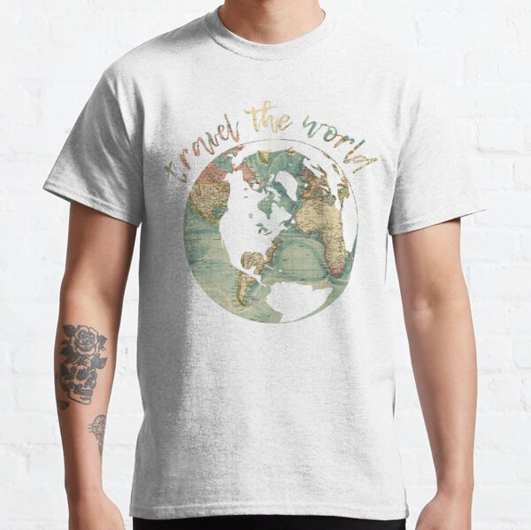 travel the world map Classic T-Shirt