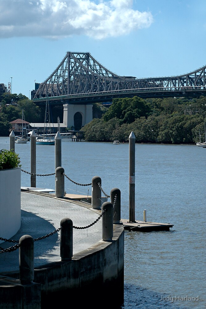 Brisbane River and the Story Bridge by Judy Harland