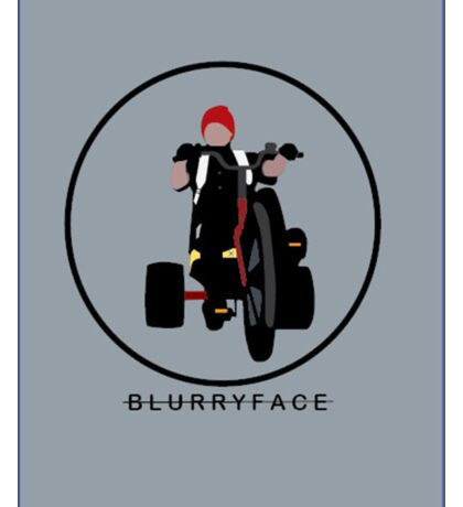 Blurr Sticker