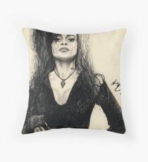 Bellatrix Lestrange Throw Pillow
