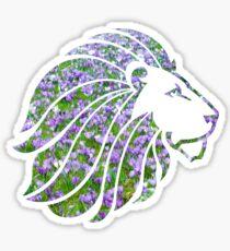ADPi Lion Violets Sticker