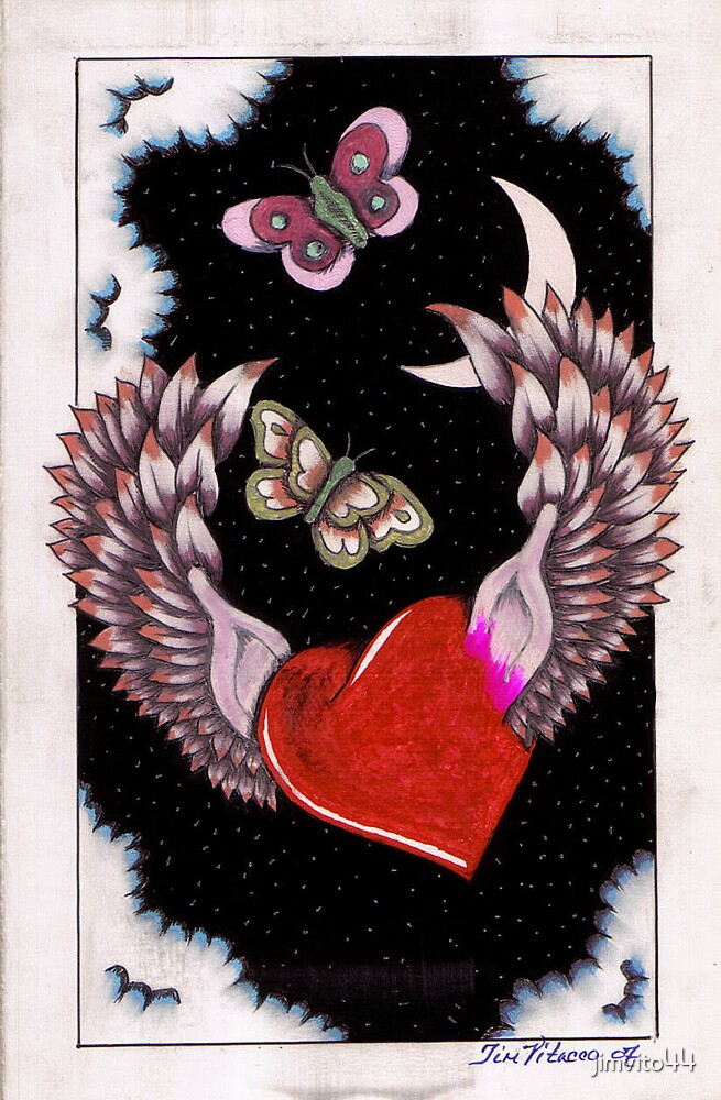 Heart With Wings by jimvito44