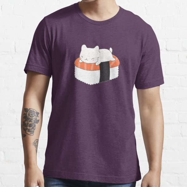 Kawaii Sushi Cat  Essential T-Shirt