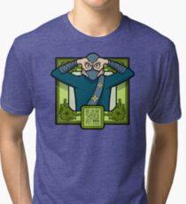 Masked Ninja Tri-blend T-Shirt