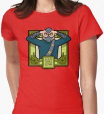 Masked Ninja Womens Fitted T-Shirt