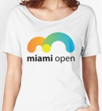 Miami Open 2017 Tennis Women's Relaxed Fit T-Shirt