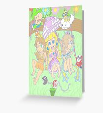 Loli Princesses  Greeting Card