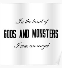 Lana Del Rey- Gods and Monsters Poster