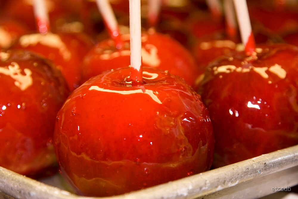 candied apples by etccdb