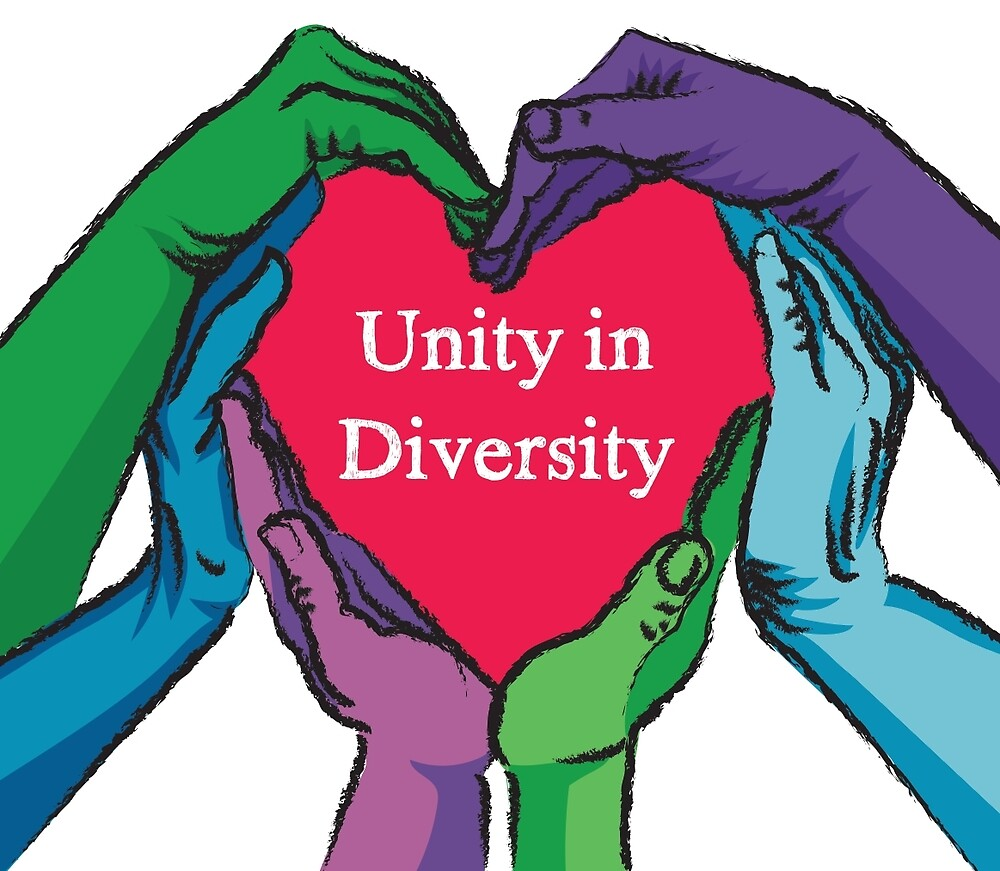 unity and diversity essay Unity in diversity essay for class 2, 3, 4, 5, 6, 7, 8, 9, 10, 11 and 12 find paragraph, long and short essay on unity in diversity for your kids, children and students.