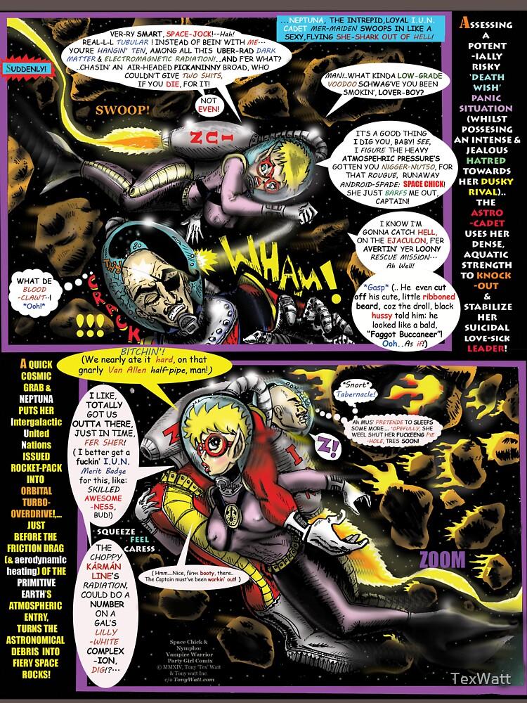 Page #4 of Tex Watt's  WEEKLY (UNCENSORED) SUNDAY COMIX POP-ART by TexWatt