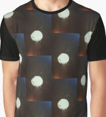 Moon Between Two Forces Graphic T-Shirt