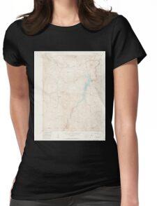 USGS TOPO Map Colorado CO Cheesman Lake 450266 1956 24000 Womens Fitted T-Shirt