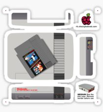 Nintendo Entertainment System + Mario  & Duck Hunt Skin for the Official case [Get the MEDIUM size] Sticker
