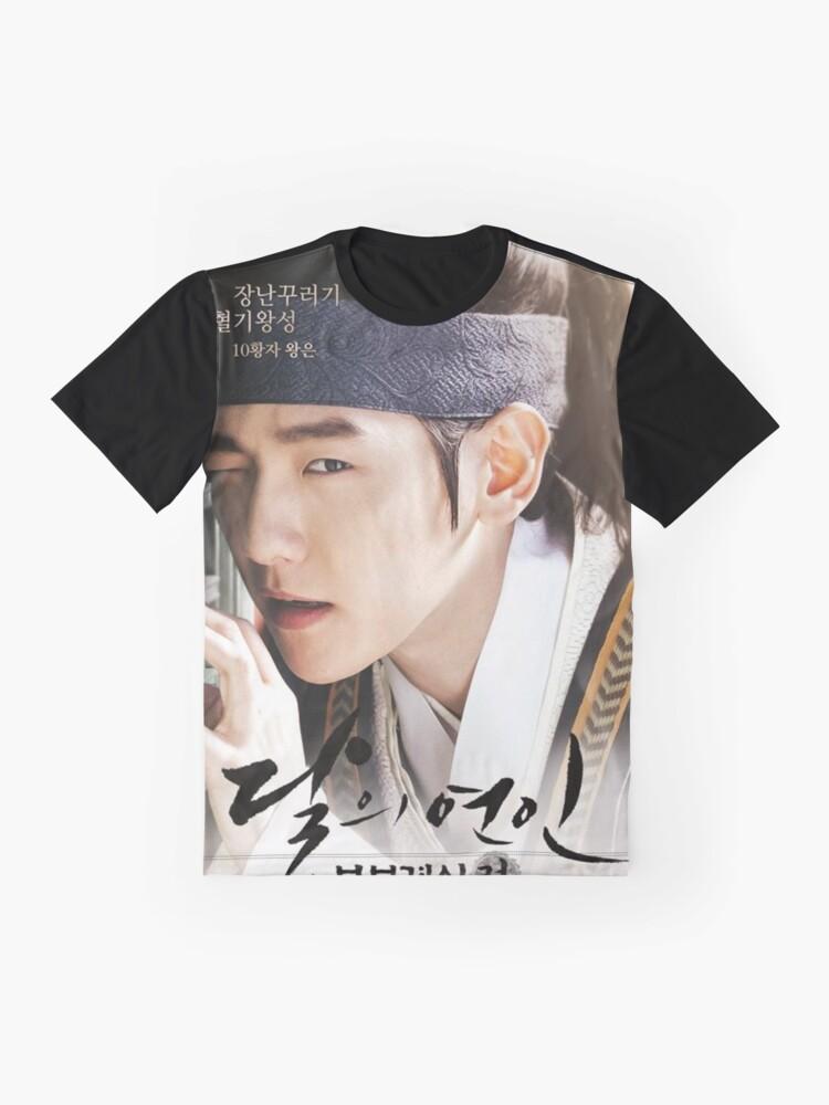 Alternate view of Scarlet Heart Byun Baekhyun Poster Graphic T-Shirt