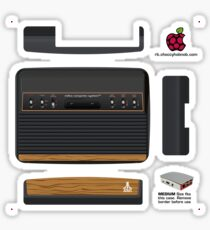 Atari VCS 2600 Skin for the Official case [Get the MEDIUM size] Sticker