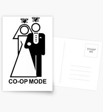 Co-Op Mode Postcards
