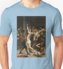 ART / William-Adolphe BOUGUEREAU / Flagellation of Jesus / 1880 Unisex T-Shirt