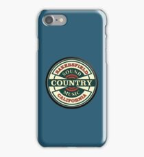 Bakersfield  Sound  CMC iPhone Case/Skin