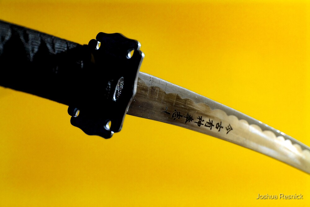 Saffron Blade by Joshua Resnick