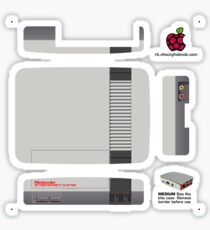 Nintendo Entertainment System (NES) Skin for the Official case [Get the MEDIUM size] Sticker