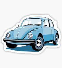 VW BeetleFor  Sticker