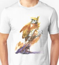 Owl and Guitar Unisex T-Shirt