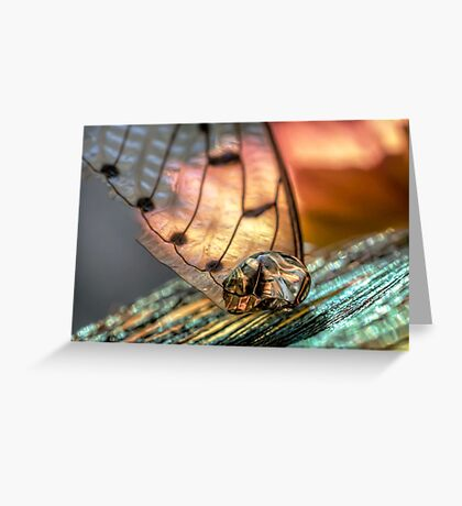 Gold on the Diamond Greeting Card