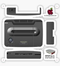 Neo-Geo AES Skin for the Official case [Get the MEDIUM size] Sticker