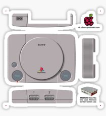 Sony Playstation Skin for the Official case [Get the MEDIUM size] Sticker