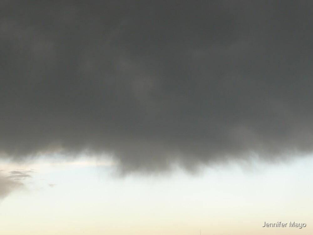 gray clouds by Jennifer Mayo
