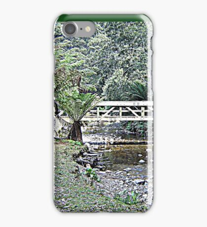 Creek Bridged iPhone Case/Skin