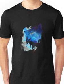 Alone As A Wolf Unisex T-Shirt