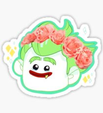 flower crown boy Sticker