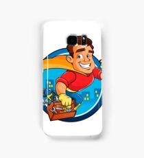 Superhero handyman Samsung Galaxy Case/Skin