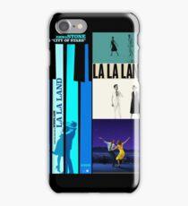 La La Land Posters Collage iPhone Case/Skin