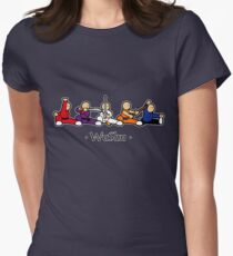 MiniFu: Wushu lineup Womens Fitted T-Shirt