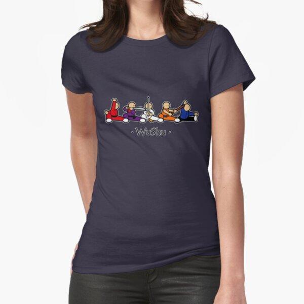 MiniFu: Wushu lineup Fitted T-Shirt
