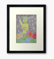 Eco Boy Framed Print