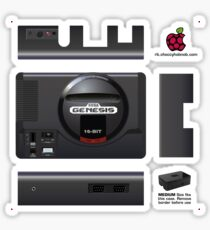 Sega Genesis Skin for the Premium case [Get the MEDIUM size] Sticker