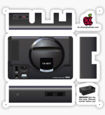 Sega Mega Drive Skin for the Premium case [Get the MEDIUM size] Sticker