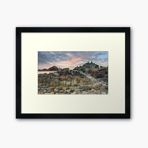 Mimosa Rocks National Park Framed Art Print