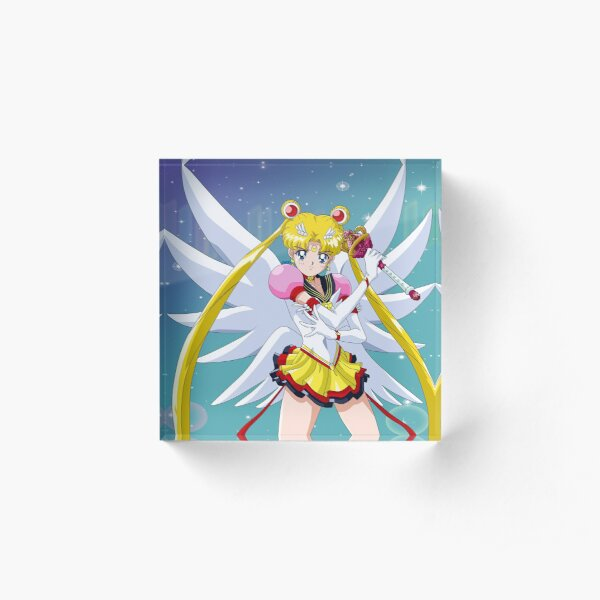 Eternal Sailor Moon Attack Pose Acrylic Block