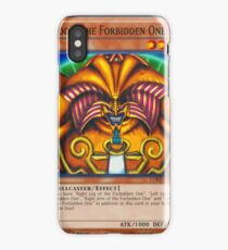 Exodia The Forbidden One iPhone Case/Skin