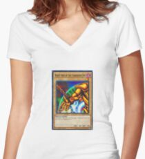 Right Arm Of The Forbidden One Women's Fitted V-Neck T-Shirt