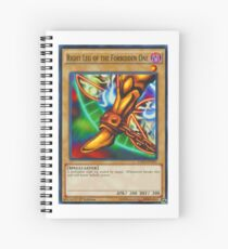 Right Leg Of The Forbidden One Spiral Notebook