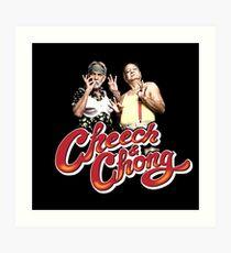 Cheech & Chong Art Print