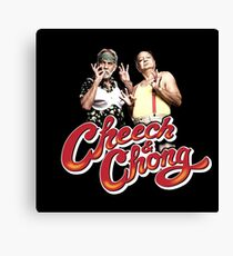 Cheech & Chong Canvas Print
